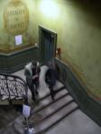 la escalera modernista