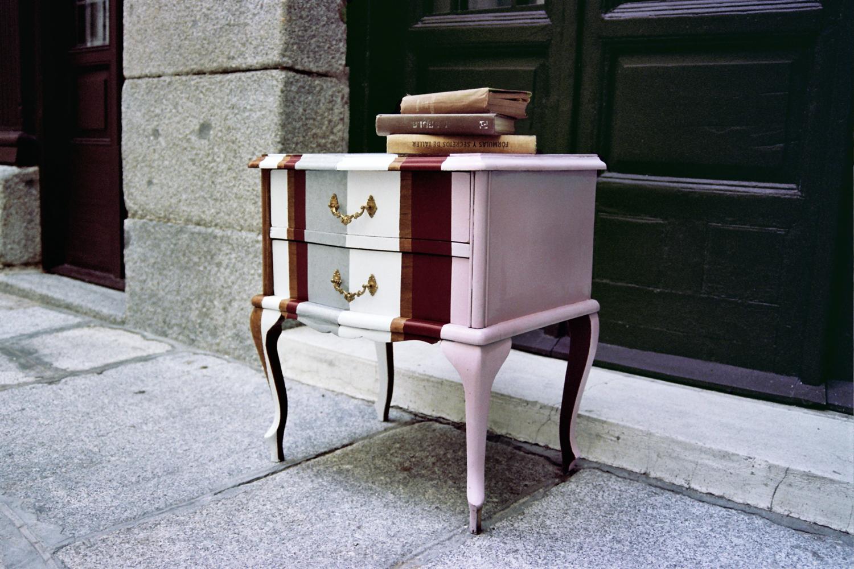 Muebles transformados taller y medio - Muebles para restaurar madrid ...