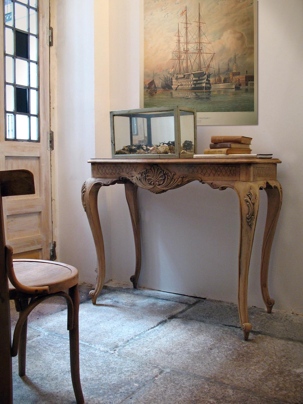 Consola luis xv taller y medio - Taller restauracion muebles ...