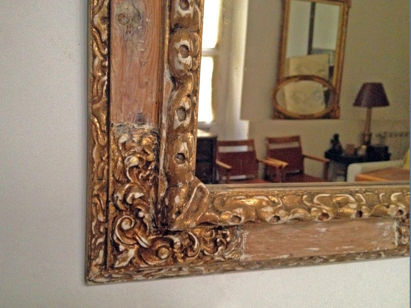 La tienda del taller taller y medio for Espejo barroco