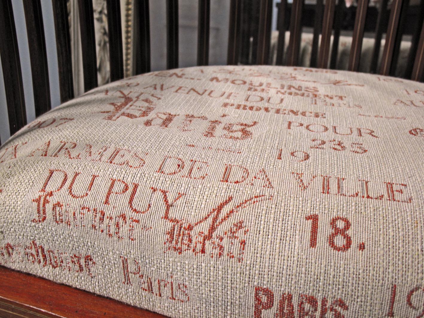 Silla tapizado taller y medio - Telas tapiceria sillas ...