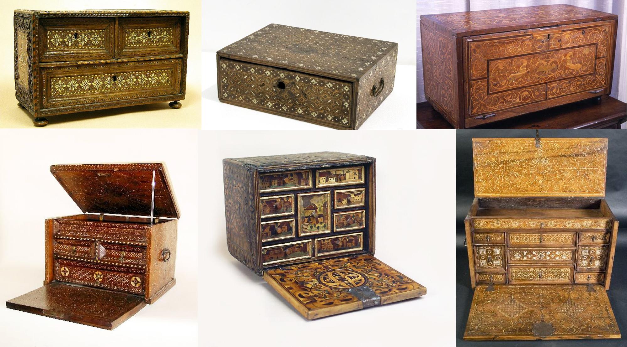 Mueble espa ol de los siglos xvi xvii taller y medio for El mayorista del mueble