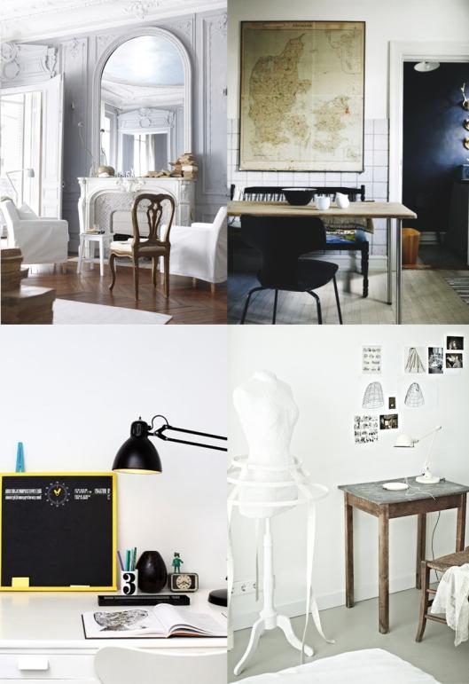 decoraci n de interiores taller y medio. Black Bedroom Furniture Sets. Home Design Ideas