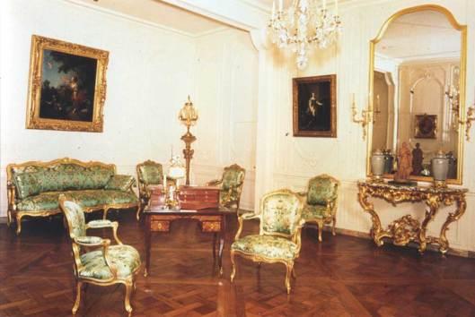 Detalle del grand cabinet de madame de Pompadour.