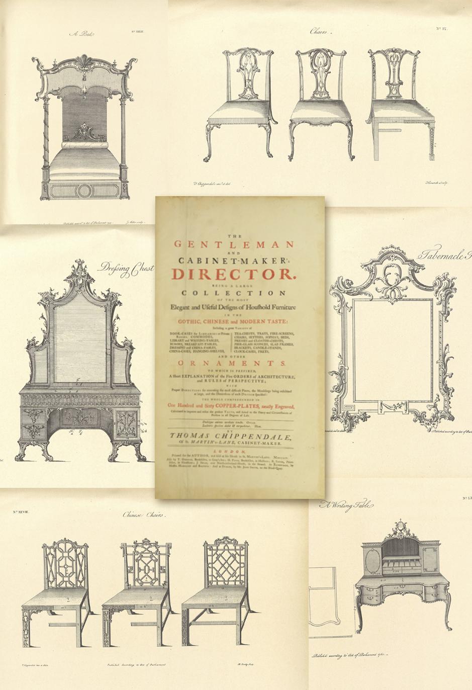 Estilo Ingl S Taller Y Medio # Muebles Luis Xv Caracteristicas