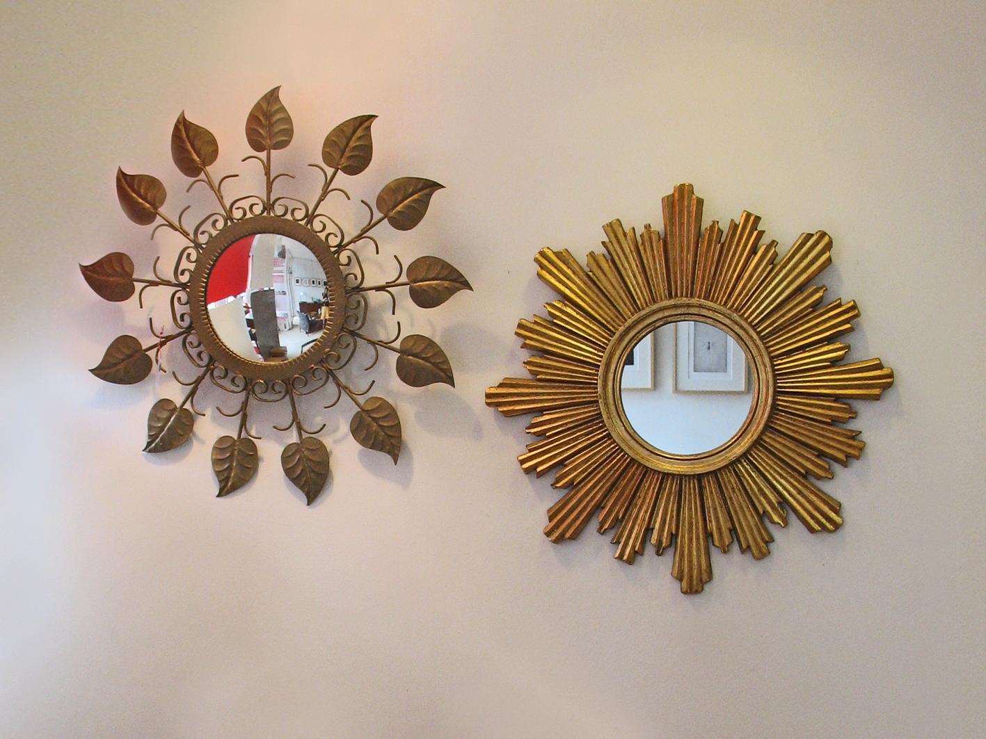Espejos taller y medio for Espejos decorativos con forma de sol
